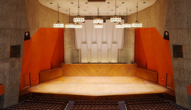 熊本県立劇場コンサートホール舞台照明設備その他改修工事