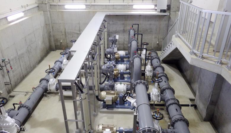 長洲町水道事業腹赤浄水場及び各水源地電気・機械設置工事