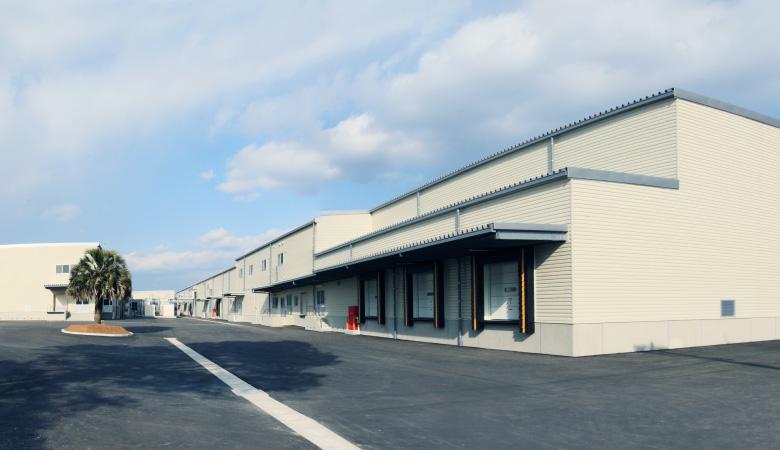 熊本畜産流通センター新築電気・配線工事