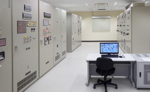 長洲町腹赤浄水場中央監視設備(平成28年)