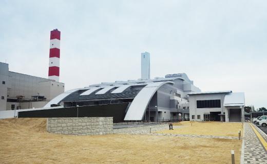 新熊本市西部清掃工場電気計装工事(平成28年)