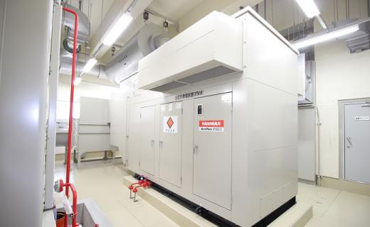 熊本市加勢川第6排水区 非常用発電機【375KVA-210V】(平成14年)