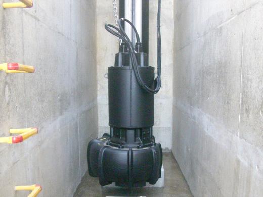 坪井川第3配水区雨水調整池排水ポンプ設備(令和元年)