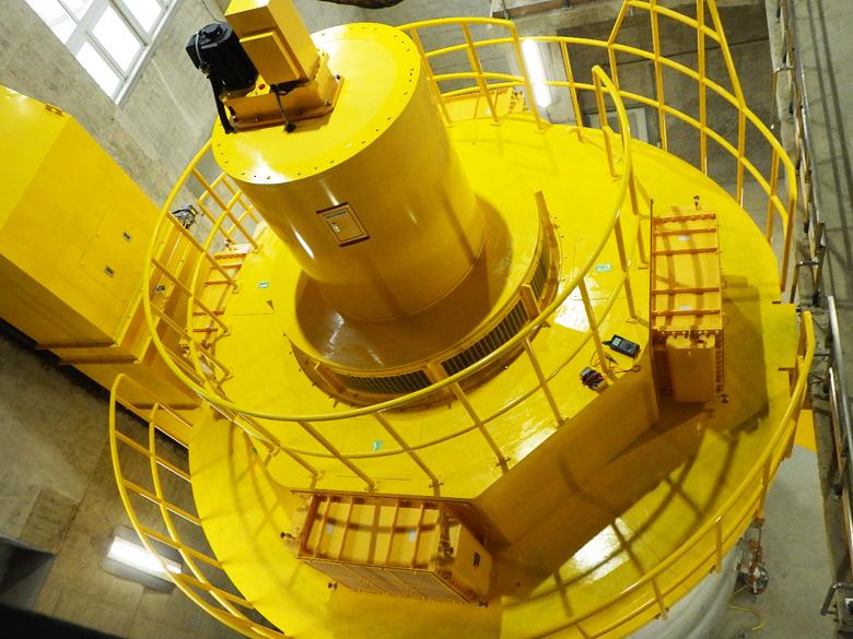 (改良)市房第二発電所水車発電機等更新工事